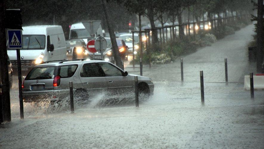 Intempéries : des dégâts en Aveyron, le vol Paris-Rodez détourné vers Montpellier