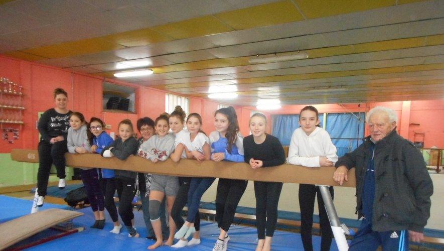 Plus de 100 ans que le club de l'Alerte propose de la gymnastique à Decazeville.