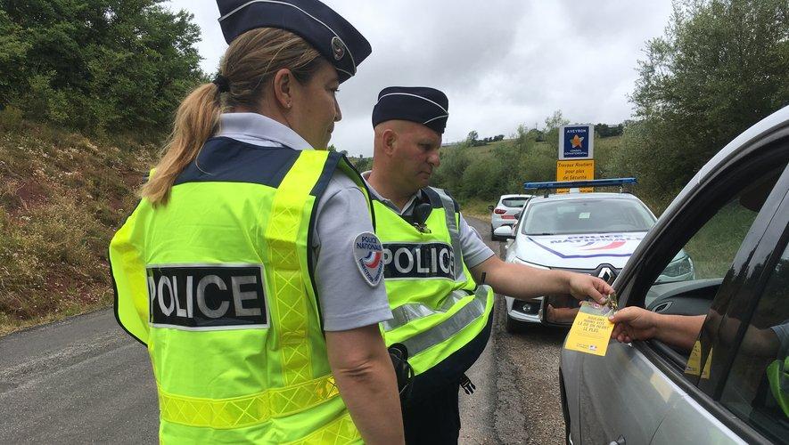 Limitation à 80 km/h  : les policiers en opération prévention à Onet-le-Château
