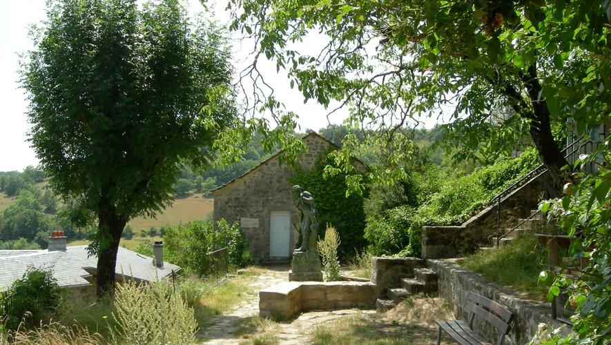 La maison natale du  célèbre Jean-Henri Fabre