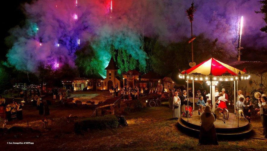 Le spectacle se déroule au village de Flagnac et compte sept représentations au total, entre les mois de juillet et d'août.