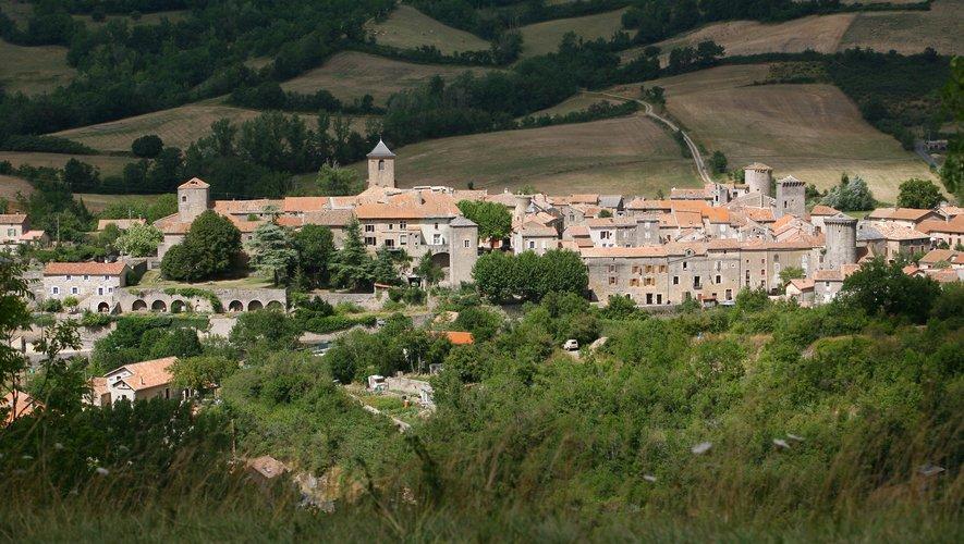 Le village de Sainte-Eulalie.