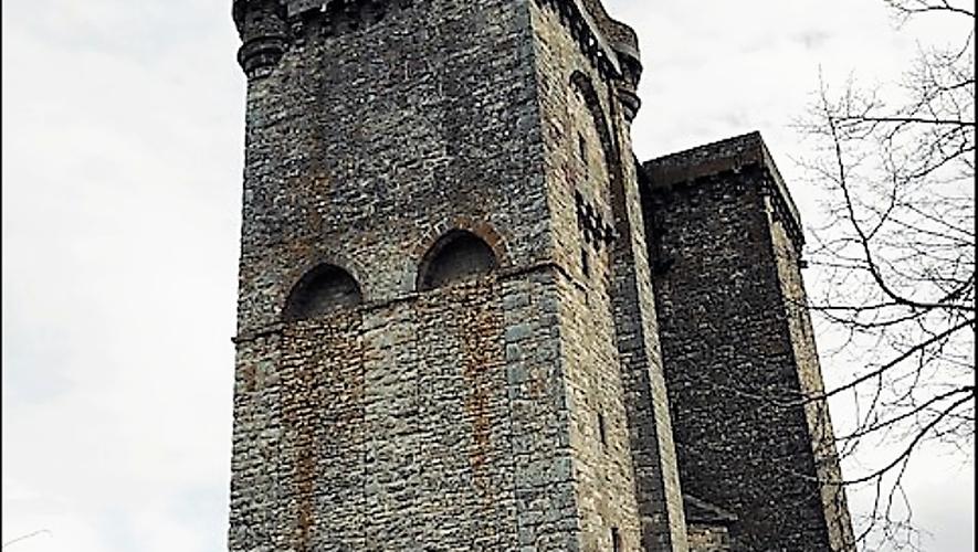 L'église de Sainte-Radegonde.