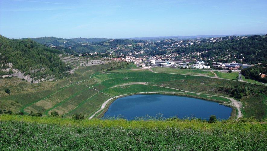 La cité aveyronnaise a été façonnée par son passé minier.