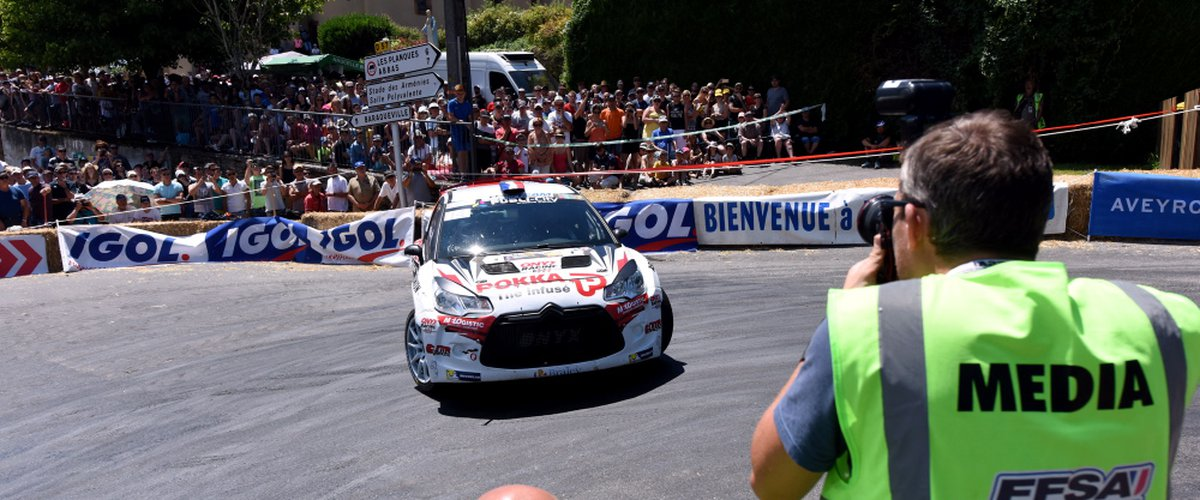 Le rallye de Marcillac sur les chapeaux de roue ce week-end.