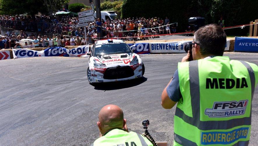 Le rallye du Rouergue débute vendredi.