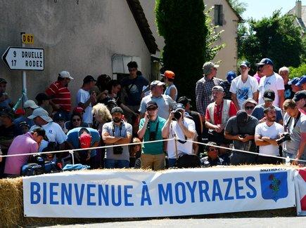 Chaude ambiance à Moyrazès !