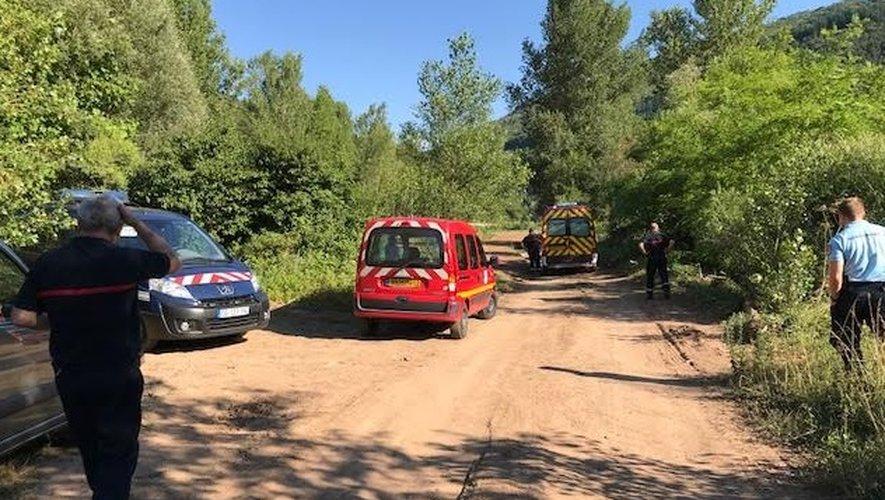 Les sapeurs-pompiers ont engagé les recherches durant plusieurs minutes.