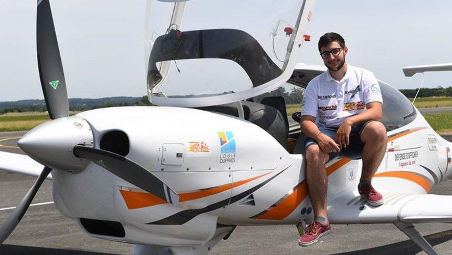 Gérald égéa a bouclé son tour d'Europe en avion