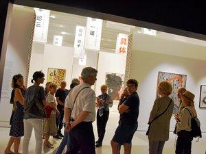 Le mouvement gutai suscite la curiosité au musée