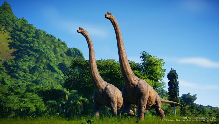 "Le titre ""Jurassic World Evolution"" est paru en amont de la sortie du blockbuster ""Jurassic World: Fallen Kingdom."""