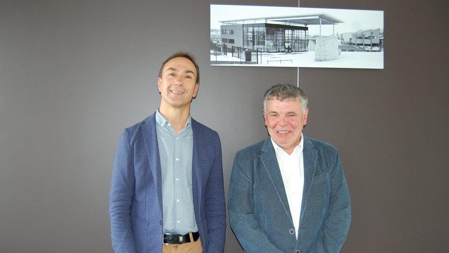 Bruno Bélières (à gauche) prend la succession de Jean-Yves Bruel.