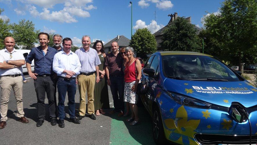 Un nouveau service avec des voitures électriques à disposition de tous