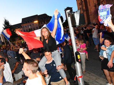 France-Belgique : ambiance de folie à Rodez