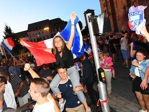 Rodez en feu après la victoire des Bleus !