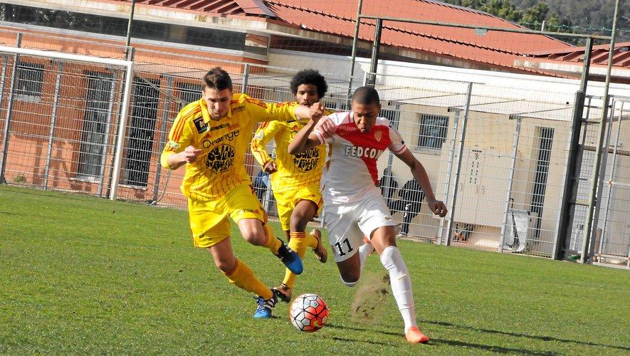 Kylian Mbappé face à Rodez, il y a deux ans.