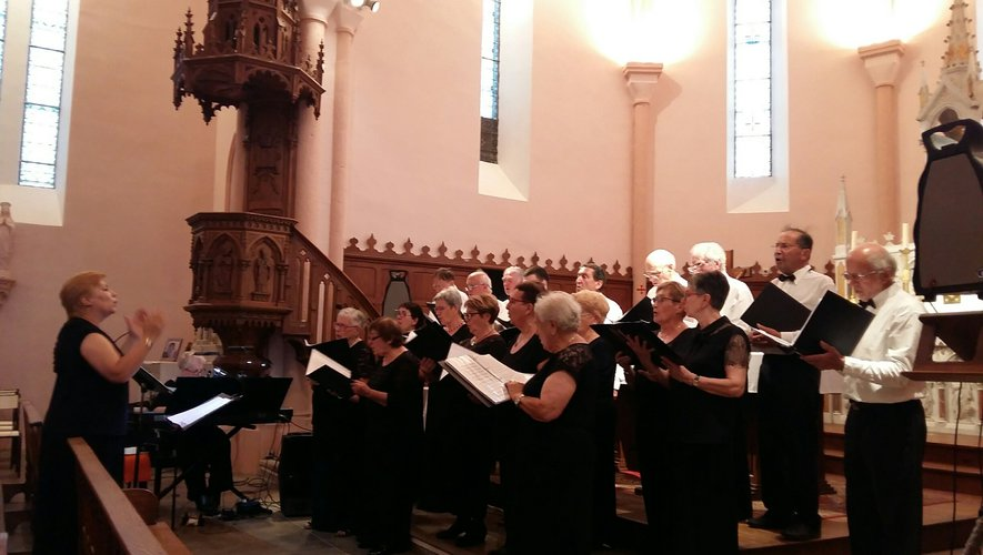 Les choristes apprécient ce lieupour le rendu musical.