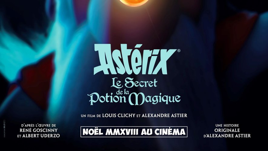 """""""Astérix : Le Secret de la potion magique"""" sortira au cinéma le 5 décembre prochain"""