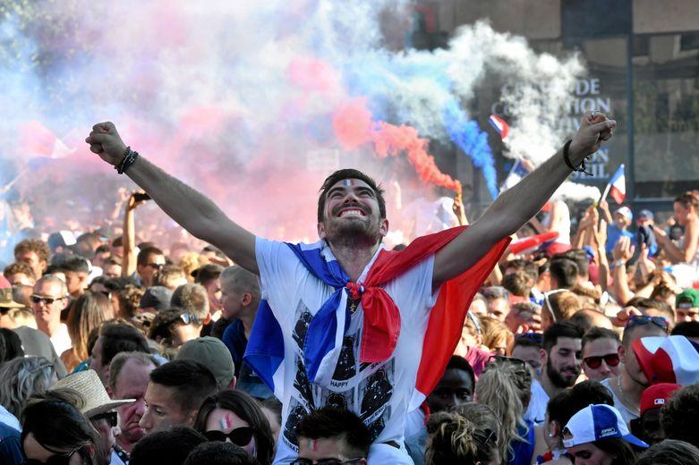 Retour en images sur la liesse populaire dans les rues de Rodez, hier