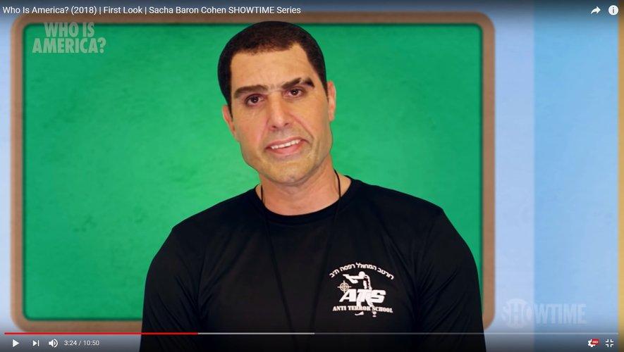Erran Morad rejoint Borat et Aladeen, les personnages cultes incarnés par Sacha Baron Cohen.