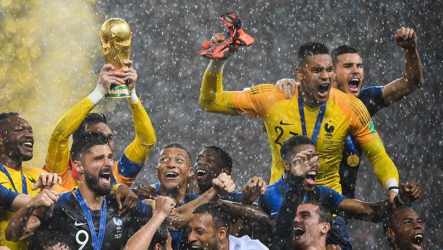 Près de 163 millions d'Européens et Chinois ont assisté au deuxième sacre de la France en Coupe du monde
