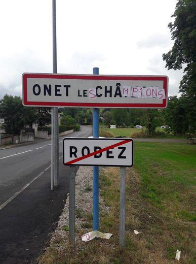 Quand Onet se transforme en...Onet Les Champions