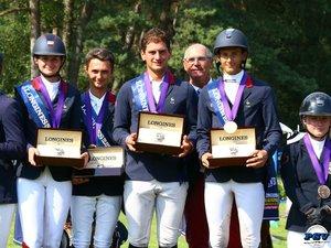 L'Aveyronnais Victor Burtin sacré champion d'Europe par équipe de concours complet