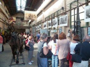 Visite du musée de l'Aspibd ce jeudi