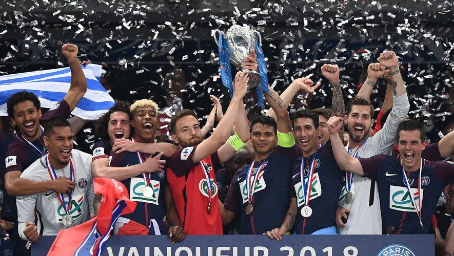 Le Paris Saint-Germain a remporté le Championnat de France en 2018.