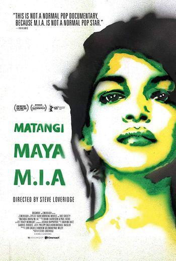 """""""Matangi/Maya/M.I.A"""" sortira le au Royaume-Uni au 21 septembre et le 28 aux Etats-Unis."""
