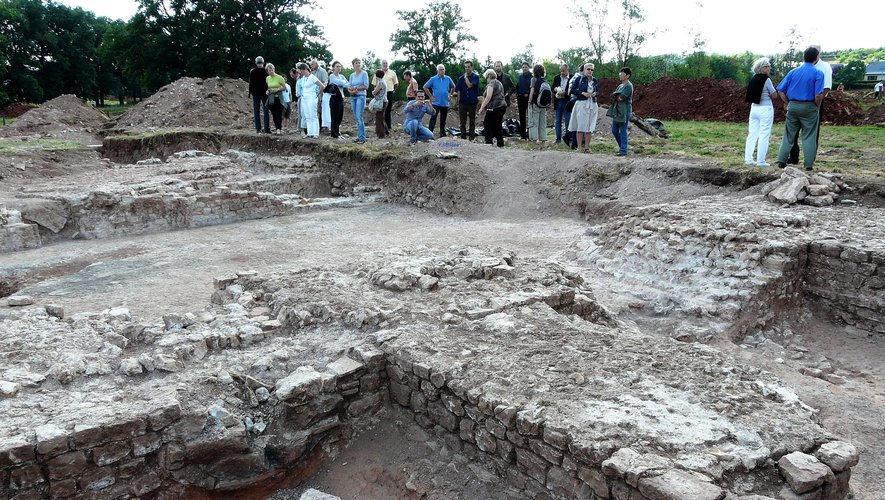 Des projets seront présentés pour mettre en valeur les vestiges gallo-romains (ici en 2009) dans le parc Notre Seigne.