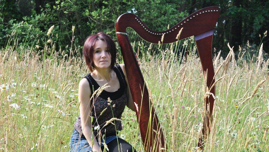 Aurore Bréger est une harpiste.