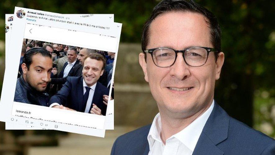 Le député LR Arnaud Julien.