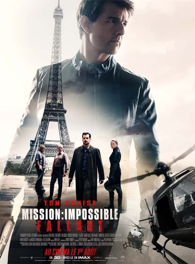 """Dans """"Mission: Impossible - Fallout"""", tourné en grande partie à Paris, Tom Cruise reprend son rôle du célèbre agent Ethan Hunt pour un nouveau festival de sensations fortes et de cascades spectaculaires."""