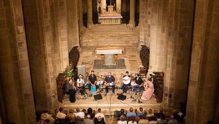 Les spectateurs ont répondu présent pour premier concert du Festival de musique à l'abbatiale Sainte-Foy.