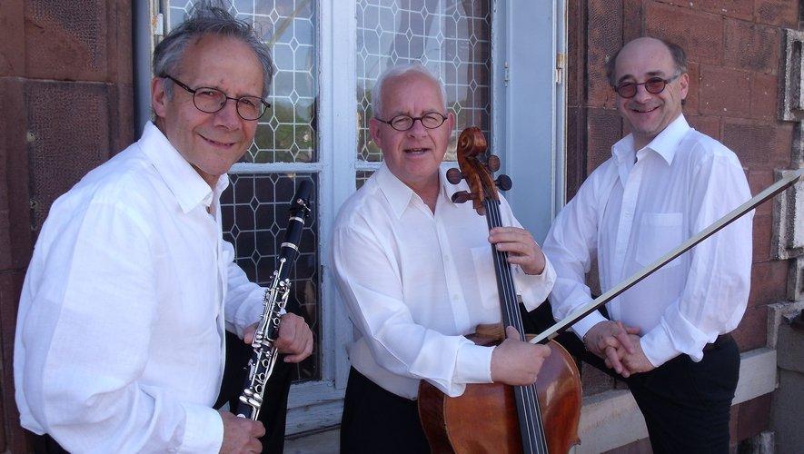 Le trio de Claripia'Cello sera, ce soir, sur la scène de la salle de conférences.