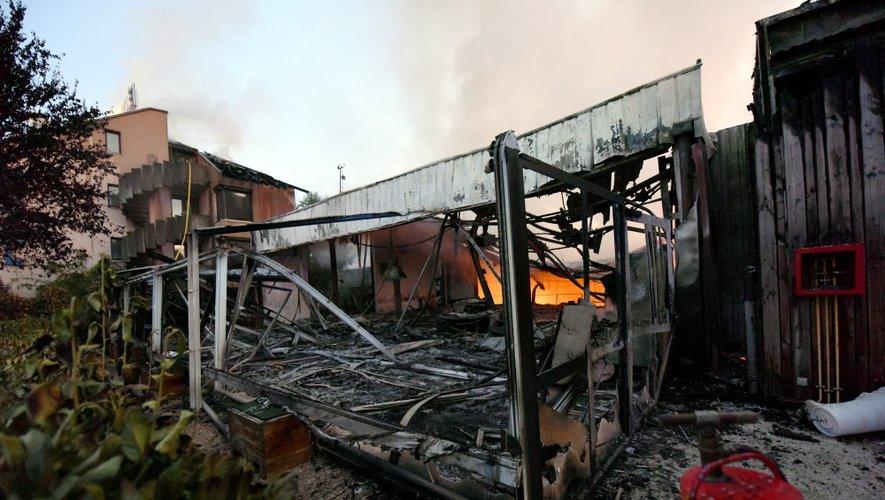 """Incendie du Bowling du Rouergue à Onet :  """"C'est une vraie catastrophe"""""""