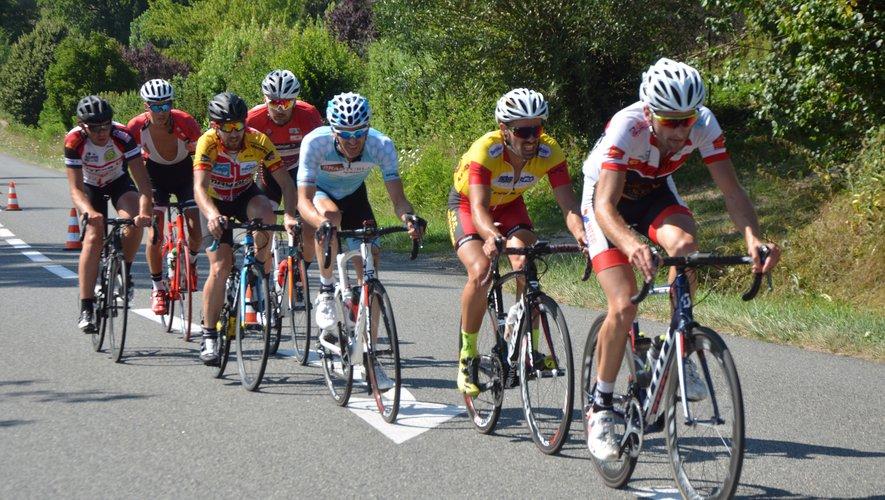 Cyril Bonnafé vainqueurde la course cycliste Ufolep