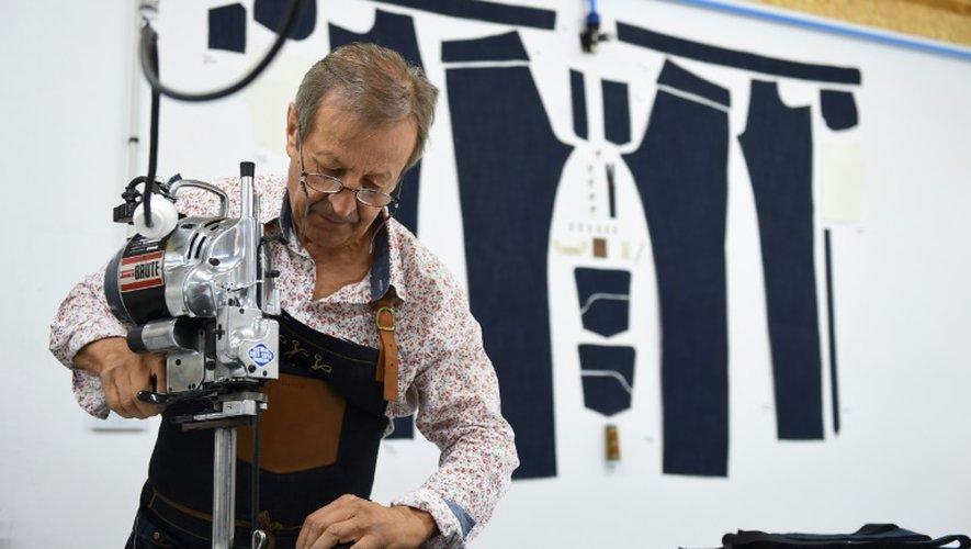 Jean-Jacques Tuffery, gérant, dans son atelier Tuffery à Florac le 26 juillet 2018
