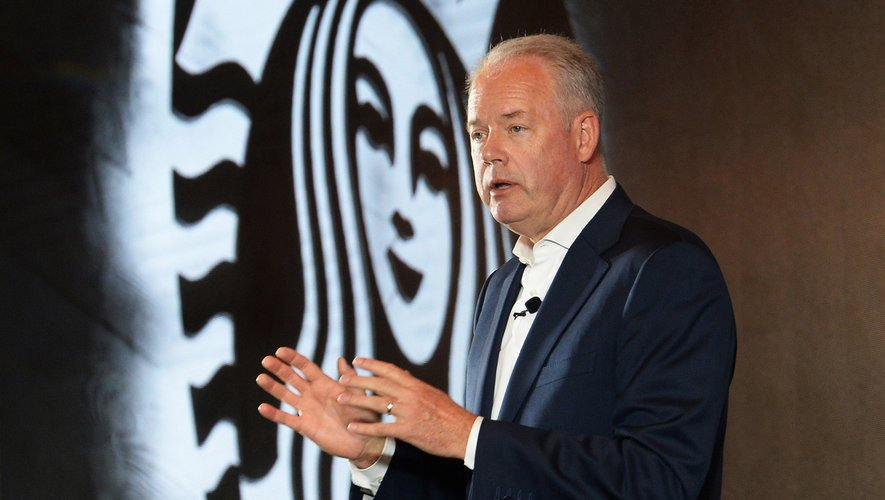 Kevin Johnson, le PDG de Starbucks