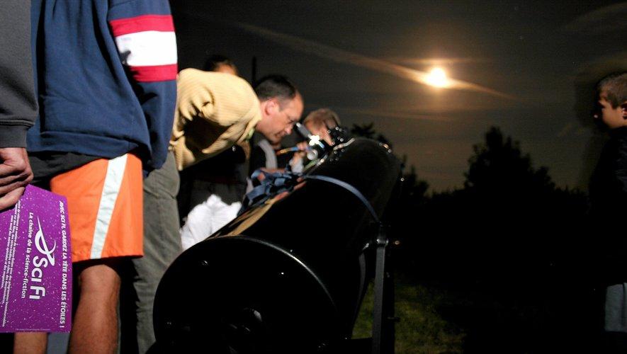 Nuit des étoiles : les associations aveyronnaises au chevet des astres