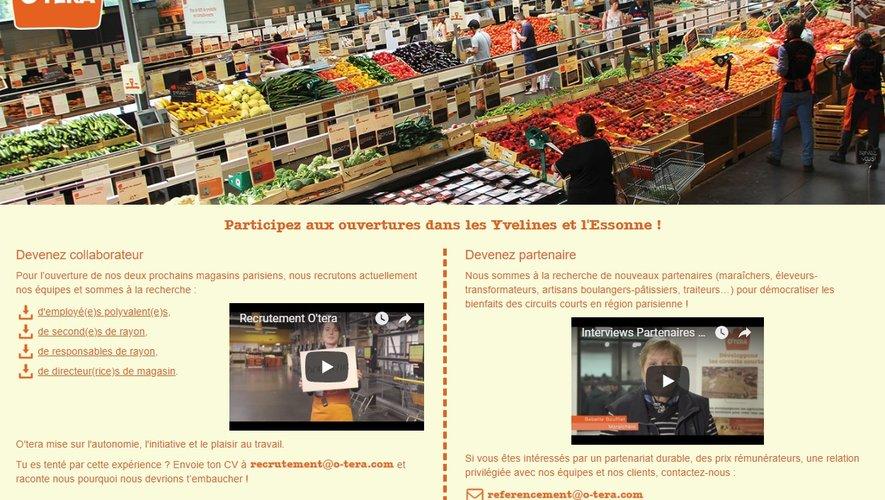 L'enseigne O'Tera ouvre ses premiers magasins en région parisienne à la rentrée