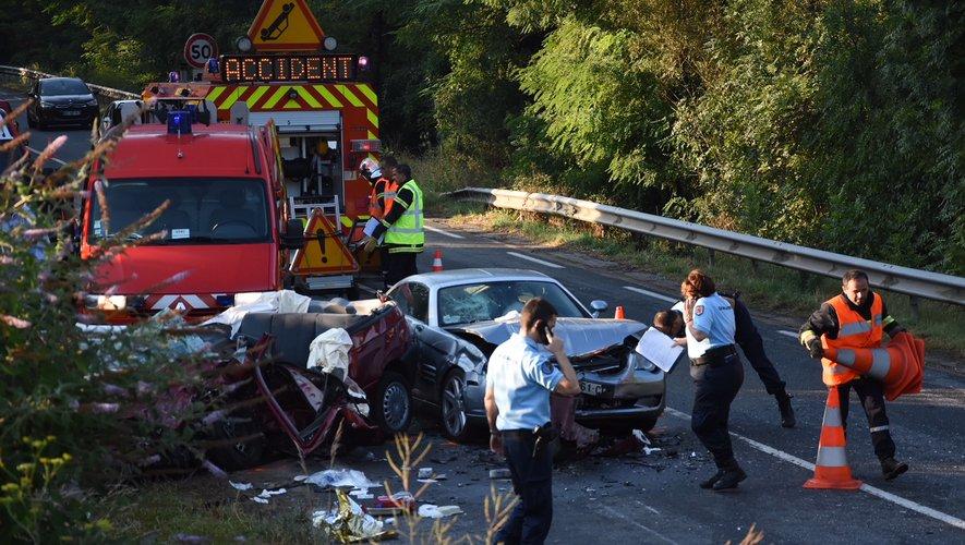 La collision s'est produite ce dimanche matin peu avant 6h30.