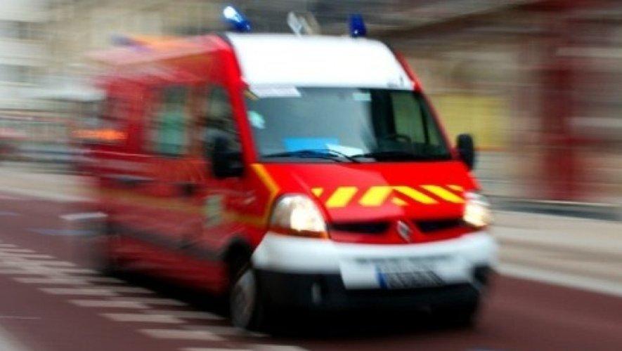 Collision et voiture en feu à La Loubière : quatre blessés