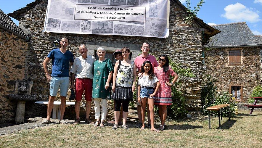 La famille Malgouyres est depuis un demi-sicècle dans le tourisme fermier.