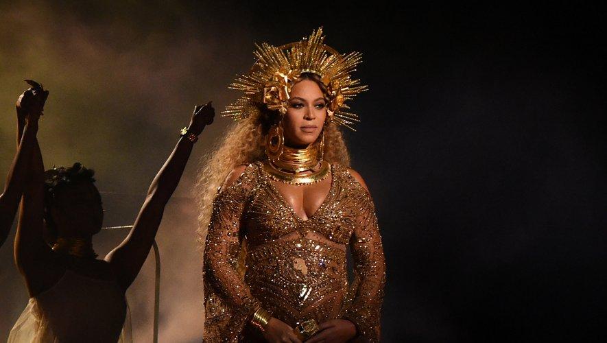 Beyoncé, alors enceinte de ses jumeaux, s'était produite en février 2017 sur la scène des Grammy Music Awards, à Los Angeles, en Californie.