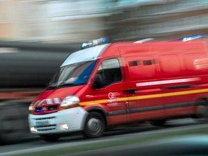 Les pompiers ont transporté la victime vers l'hôpital Jacques-Puel.