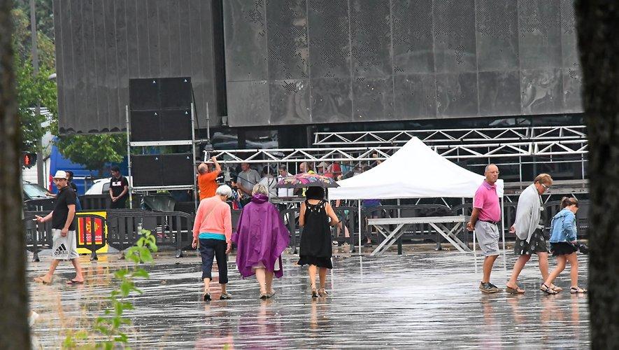 Le lancement du Festival du Rouergue annulé à cause de la pluie