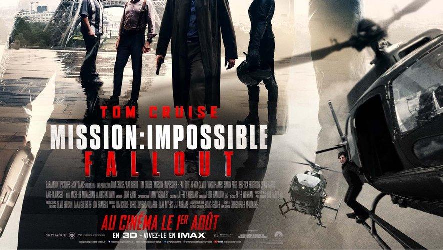 """Projeté sur 983 écrans, """"Mission impossible: Fallout"""" réalise un des meilleurs démarrages de l'année 2018."""
