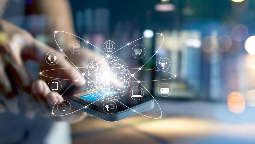 L'application mobile utilise les ondes radios cryptées de très hautes fréquences.